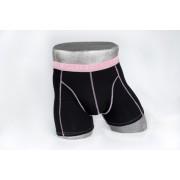 Heren boxer zwart/roze